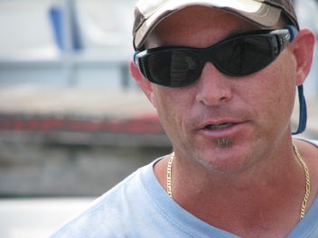 A Florida fisherman fears he may have to move if the oil's impact is to severe.